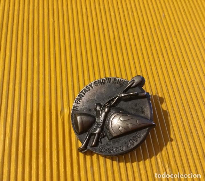 Pins de colección: Pin motero Sestao bilbao 2006 - Foto 2 - 168133096
