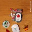 Pins de colección: SÓLO PIN OLIMPIADAS CON BANDERA DE ESPAÑA. Lote 168336760