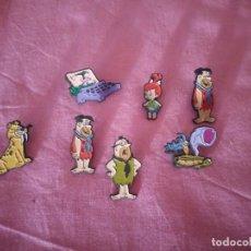 Pins de colección: LOTE DE 7 PIN DE LOS PICAPIEDRA.AÑO 1994. Lote 168359972