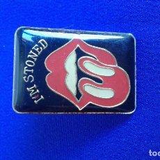 Pins de colección: PIN ROLLING STONES. Lote 168636856