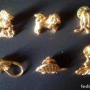 Pins de colección: LOTE 6 PINS CON BROCHES DIFERENTES. Lote 168686520
