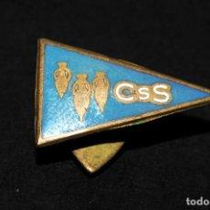 Pins de colección: ANTIGUA INSIGNIA ESMALTADA DE SOLAPA CSS. SUBMARINISMO. Lote 168824824