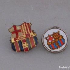 Pins de colección: DOS PINS FC BARCELONA. Lote 169111852
