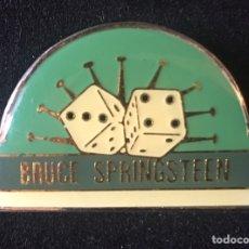 Pins de colección: PIN AGUJA BRUCE SPRINGSTEEN OFICIAL GIRA TÚNEL OF LOVE. Lote 169212497