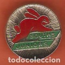 Pin's de collection: 1 PIN /PINS - INSIGNIA - DEPORTES - RUGBY SYDNEY - SOUTHS JUNIORS - CIERRE TIPO IMPERDIBLE. Lote 169227912