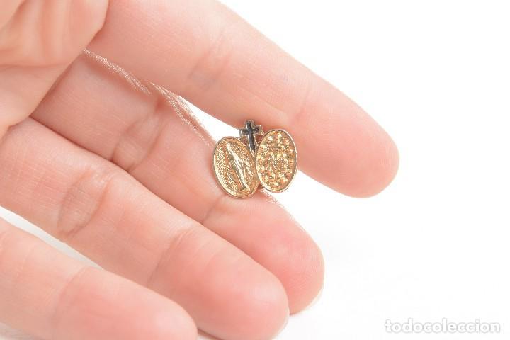 Pins de colección: Pin de la Virgen Maria, pin de la Virgen, pin esmaltado virgen, pin esmaltado, pins católicos, pin - Foto 2 - 169926064