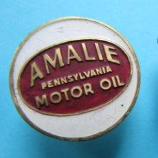 Pins de colección: INSIGNIA AMALIE, PENNSYLVANIA, MOTOR OIL. ACEITES PARA MOTORES, 1903 - HOY.. Lote 170173672