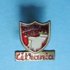 Pins de colección: INSIGNIA CITRANIA. LA BEBIDA DE ESPAÑA, SIN FECHA.. Lote 170177176