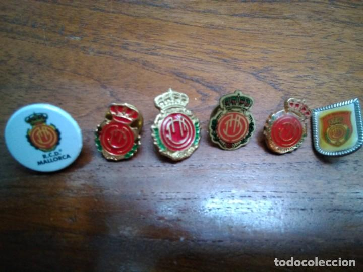 4 PINS REAL MALLORCA (TODOS DIFERENTES) (Coleccionismo - Pins)