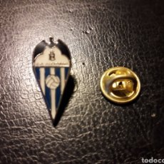 Pin's de collection: PIN ESCUDO CD ALCOYANO (ALCOY ALICANTE). FÚTBOL. DEPORTES.. Lote 171152648