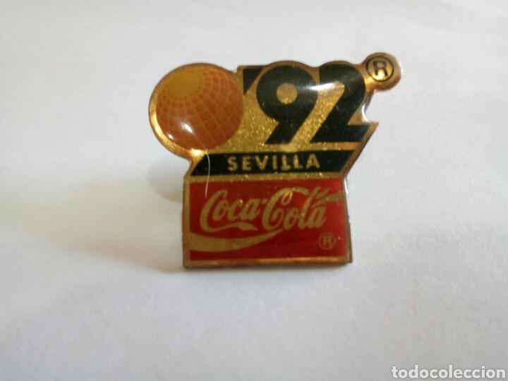 PIN SEVILLA 92/COCA COLA (Coleccionismo - Pins)
