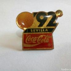 Pins de colección: PIN SEVILLA 92/COCA COLA. Lote 171422344