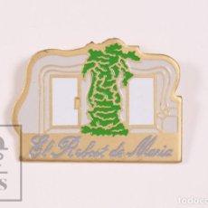 Pins de colección: PIN TURÍSTICO / PUBLICITARIO - RESTAURANTE EL REBOST DE MARÍA, BARCELONA - LANGOSTA - MED 21 X 16 MM. Lote 171495599