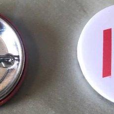 Pins de colección: 1 CHAPA POLÍTICA. I LOVE PSOE. BLANCA. 30 MM. NUEVA.. Lote 171544439
