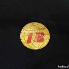 Pins de colección: ANTIGUA INSIGNIA DE ALFILER DEV LAS LINEAS AEREAS DE ESPAÑA IBERIA, AÑOS 1960. Lote 171648314