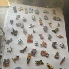 Pins de colección: LOTE 55 PIN VARIADOS DIFERENTES TEMAS COLECCIONABLES . Lote 172134213