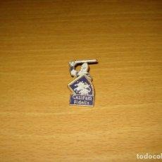 Pins de colección: PIN CASTRUM FIDELIS. FERIA MEDIEVAL CASTELLDEFELS (BARCELONA). Lote 173086193