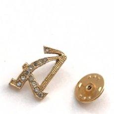 Pins de colección: PIN LETRA A MADE EN USA. Lote 173369930