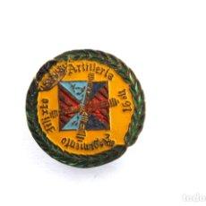 Pins de colección: PIN - INSIGNIA DE OJAL ARTILLERIA REGIMIENTO MIXTO. Lote 173676558