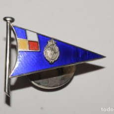 Pins de colección: PIN - INSIGNIA DE OJAL ESMALTADA - A IDENTIFICAR. Lote 173856660