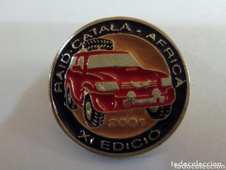 Pins de colección: PIN RAID CÁTALA-ÁFRICA XI EDICIÓN - Foto 3 - 174254027
