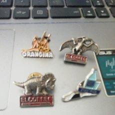 Pins de colección: 4 PINS DIFERENTES. Lote 175014702