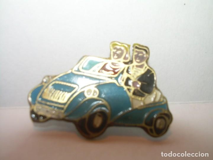 Pins de colección: ANTIGUA Y RARA INSIGNIA...BISCUTER. - Foto 2 - 175495558