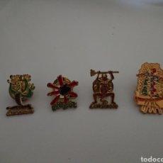 Pins de colección: LOTE 4 PINS LANZAROTE. Lote 175577459