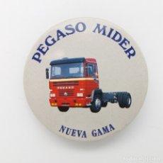 Pins de colección: CHAPA DE ALFILER PEGASO MIDER NUEVA GAMA. Lote 213881358