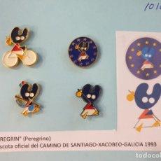 Pins de colección: LOTE 4 PINS - PELEGRIN. Lote 176412535
