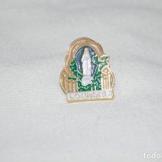 Pins de colección: PIN RELIGIOSO. NUESTRA SEÑORA DE LOURDES. VIRGEN MARÍA. FRANCIA.. Lote 176520433