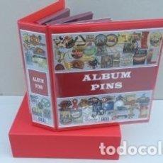 Pins de colección: ALBUM BBB* SUPERMAMUT PARA PINS. GRAN CAPACIDAD.CON CAJETÍN INCLUIDO. Lote 271009648
