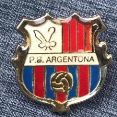 Pins de colección: PIN PEÑA BLAUGRANA ARGENTONA - FC BARCELONA BARÇA PIN. Lote 176808100