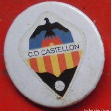 Pins de colección: ESCUDO DEL CASTELLÓN. CHAPA NUEVA DE 37 MM. Lote 177084199