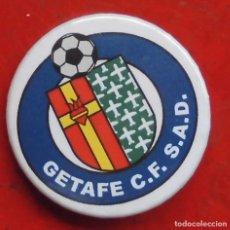 Pins de colección: ESCUDO DEL GETAFE. CHAPA NUEVA DE 37 MM. Lote 177084205