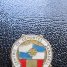Pins de colección: INSIGNIA DE SOLAPA DEL CENTRO DE DEPORTES SABADELL. Lote 177266525