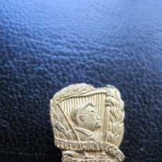 Pins de colección: INSIGNIA DE SOLAPA FEDERACIÓN DE COROS DE CLAVE 1880. Lote 177267055
