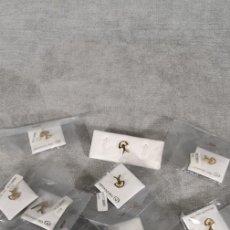 Pins de colección: LOTE DE 10 PINES INDALO- CHAPADO EN ORO. Lote 177278770