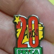 Pins de colección: PINS PIN ANIVERSARIO 20 AÑOS PRYCA . Lote 177702463