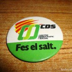 Pins de colección: (TC-230/19) CHAPA PIN AGUJA TEMA POLITICO CDS CENTRE DEMOCRATIC I SOCIAL. Lote 177734700