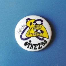 Pins de colección: CHAPA POLITICA. NAFARROA OINEZ 1988. LESAKA. IKASTOLAS. EUSKARAZ (PINS POLITICOS, CHAPAS POLITICAS). Lote 178268173