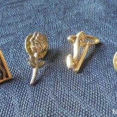 Pins de colección: LOE 4 PINS DIFERENTES. Lote 178595231