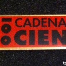 Pins de colección: PIN CADENA 100. Lote 178974090