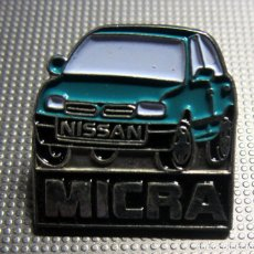 Pins de colección: PIN COCHE AUTOMOVIL NISSAN MICRA. Lote 179090952