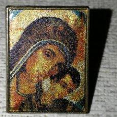 Pins de colección: PIN VIRGEN MARIA Y NIÑO JESUS. Lote 179107236