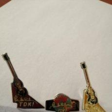 Pins de colección: 3 PIN´S PINS WORLD TOUR PAUL MCCARTNEY TDK METÁLICOS Y ESMALTADOS 1989 1990 GIRA MUNDIAL. Lote 179950150