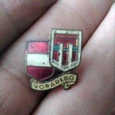 Pins de colección: INSIGNIA ANTIGUA ESCUDO VORARLBG AUSTRIA. Lote 179955685