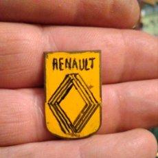 Pins de colección: INSIGNIA MOTOR AUTOMÓVIL RENAULT. Lote 180017745