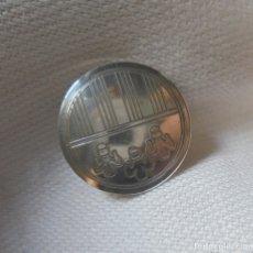 Pin's de collection: PIN DE PLATA ESCUDO SANT LLUIS, MENORCA. Lote 180087463