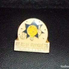 Pins de colección: PIN *IDEAS DE PROGRESO - MICHELIN* - BUEN ESTADO.. Lote 180148843